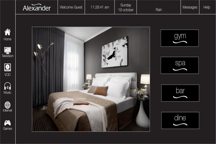 IPTV- מלון אלכסנדר